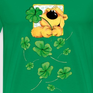 The Bear and the clover T-Shirts - Men's Premium T-Shirt