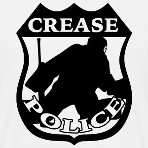 'Crease Police' Men's T-Shirt - Men's T-Shirt