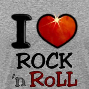 I Love Rock N Roll - T-shirt Premium Homme