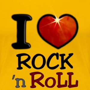 I Love Rock N Roll - T-shirt Premium Femme