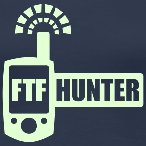 FTFHunter - glow in the dark - T-shirt Premium Femme