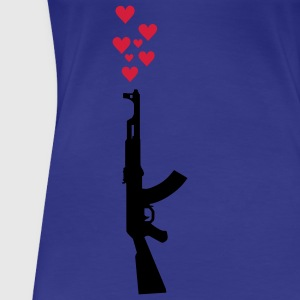 AK47 anti-war theme. T-Shirts - Women's Premium T-Shirt
