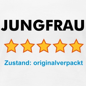 JUNGFRAU - RATE YOURSELF with 5 STARS - Frauen Premium T-Shirt