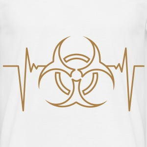 biohazard_pulse_1c T-Shirts - Men's T-Shirt