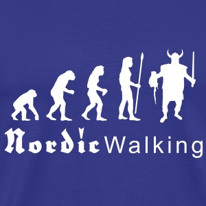 evolution_nordicwalking1 T-shirts - T-shirt Premium Homme