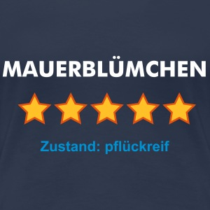 MAUERBLÜMCHEN - RATE YOURSELF with 5 STARS - Frauen Premium T-Shirt