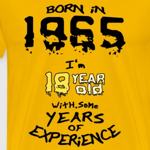born in 1965 - T-shirt Premium Homme