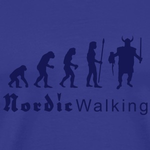evolution_nordicwalking1 T-Shirts - Men's Premium T-Shirt