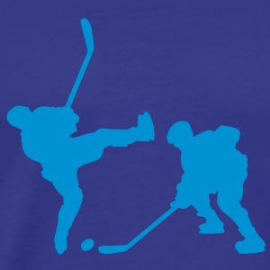 evolution_icehockey5 T-Shirts - Men's Premium T-Shirt
