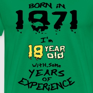 born in 1971 - T-shirt Premium Homme