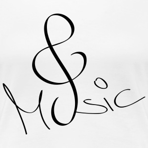 Shirt Music - Frauen Premium T-Shirt