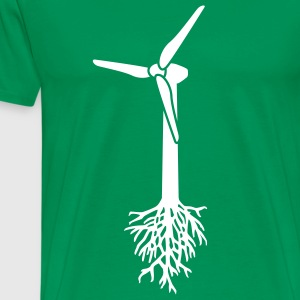 Think Green T-shirts - Herre premium T-shirt