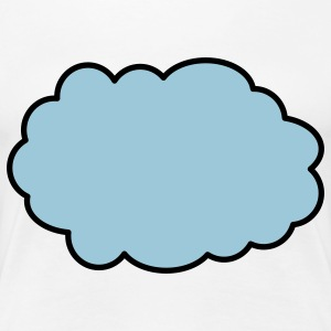 cloud T-Shirts - Women's Premium T-Shirt