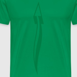 arrow_down_1c T-Shirts - Men's Premium T-Shirt