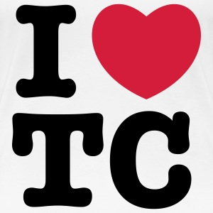 i heart tc T-Shirts - Frauen Premium T-Shirt