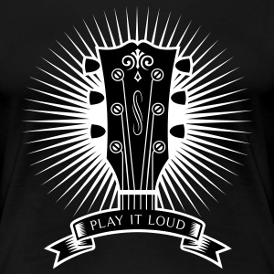 PLAY IT LOUD T-Shirts - Frauen Premium T-Shirt