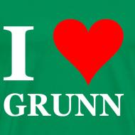 Ontwerp ~ Gronings T-shirt I love Grunn / I love Groningen