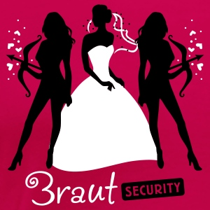 Braut Security 2C T-Shirts - Frauen Premium T-Shirt