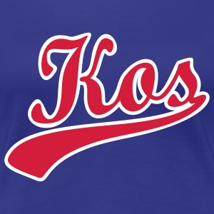 kos_scroll_11 T-Shirts - Women's Premium T-Shirt
