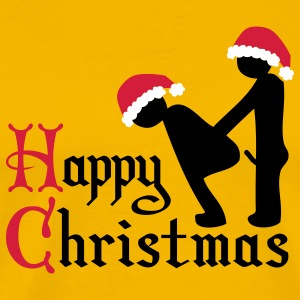 happy_chrismas_sex T-Shirts - Männer Premium T-Shirt