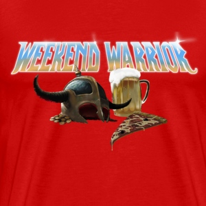 Weekend Warrior Metal - Men's Premium T-Shirt