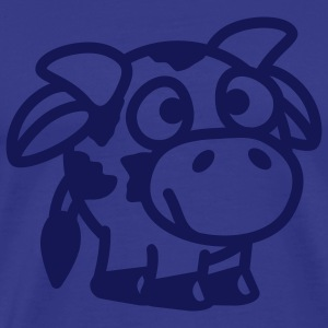 smiley_cow_1c T-Shirts - Männer Premium T-Shirt