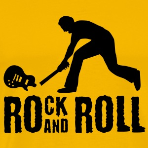 rock_and_roll_072011_a_1c T-Shirts - Männer Premium T-Shirt