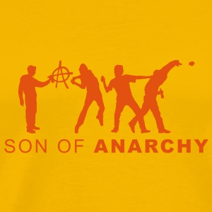 evolution_anarchy3 T-shirts - T-shirt Premium Homme