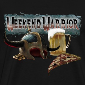 weekend warrior noir - Men's Premium T-Shirt