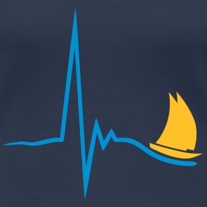 sailing_pulse_2c T-Shirts - Frauen Premium T-Shirt
