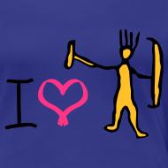 Design ~ I love trolls girlie t-shirt