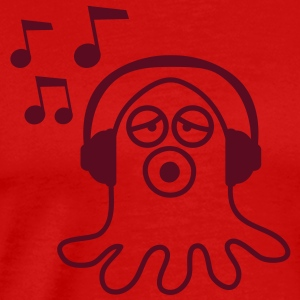 music_monster_1c T-skjorter - Premium T-skjorte for menn
