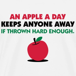 An Apple A Day 2 (3c)++ T-Shirts - Men's Premium T-Shirt