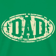 DAD Vintage Design T-Shirt Beige