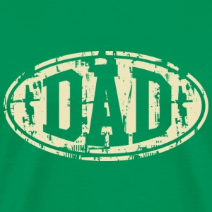 DAD Vintage Design T-Shirt Beige - Men's Premium T-Shirt