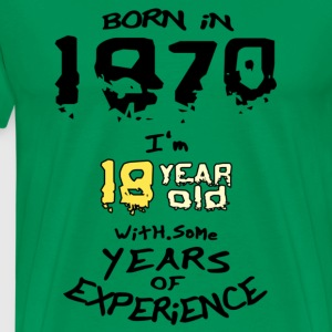 born in 1970 - T-shirt Premium Homme
