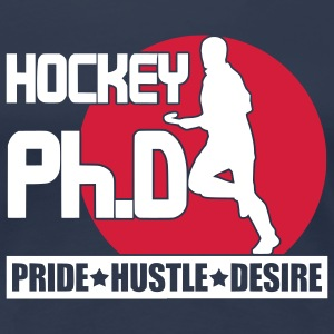 Hockey Ph.D (field hockey) T-Shirts - Women's Premium T-Shirt