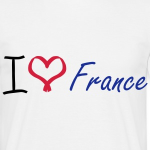 I love France Shirt - Men's T-Shirt