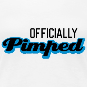 Officially Pimped | Pimp | Tuned | Tuning T-Shirts - Women's Premium T-Shirt