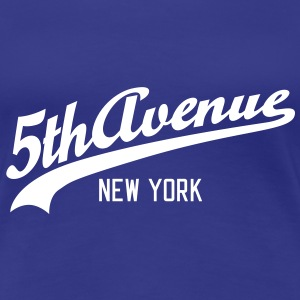 5th Avenue | New York T-Shirts - Frauen Premium T-Shirt