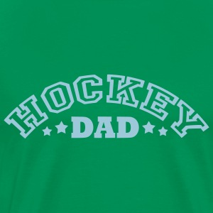 'Hockey Dad' Men's Big & Tall T-Shirt (arched text) - Premium-T-shirt herr