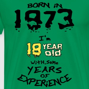 born in 1973 - Men's Premium T-Shirt