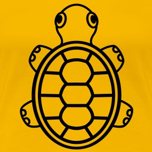 Turtle v1.1 T-Shirts - Frauen Premium T-Shirt