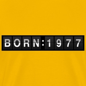 born1977 T-Shirts - Men's Premium T-Shirt