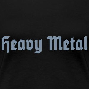 Heavy Metal, Girlie-T-Shirt - Women's Premium T-Shirt
