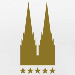 cologne 5 star T-Shirts - Frauen Premium T-Shirt