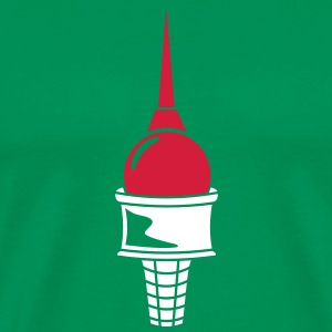 Berlin - Ice Cream Cone - Men's Premium T-Shirt