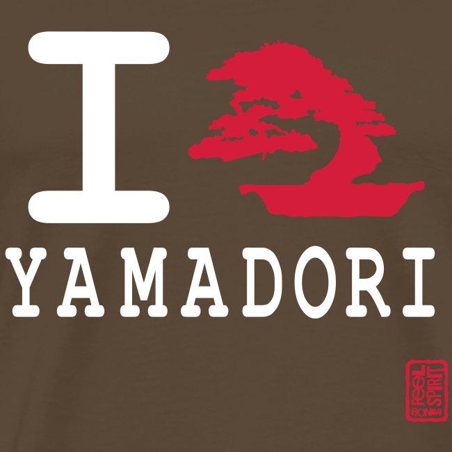 Tee-Shirt Homme I love Yamadori Devant