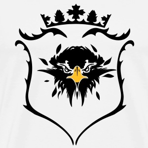 A crest with crown T-Shirts - Men's Premium T-Shirt