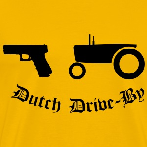 Dutch Drive-by T-Shirts - Men's Premium T-Shirt
